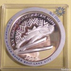 Monedas antiguas de Europa: BULGARIA 10 LEVA DE PLATA 2001. Lote 192928008