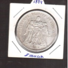 Monedas antiguas de Europa: MONEDA DE PLATA FRANCIA 1874 LA QUE VES PLATA . Lote 193847143