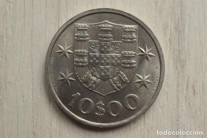 10 ESCUDOS 1972 - PORTUGAL (Numismática - Extranjeras - Europa)