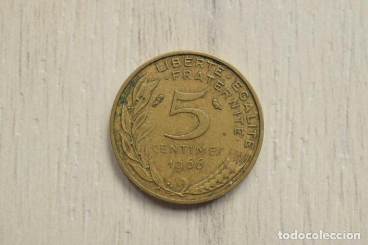 5 CÉNTIMOS 1966 - FRANCIA (Numismática - Extranjeras - Europa)
