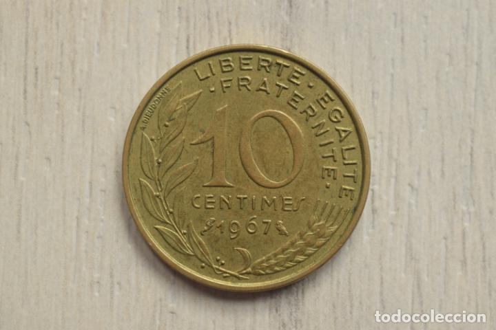 10 CÉNTIMOS 1967 - FRANCIA (Numismática - Extranjeras - Europa)