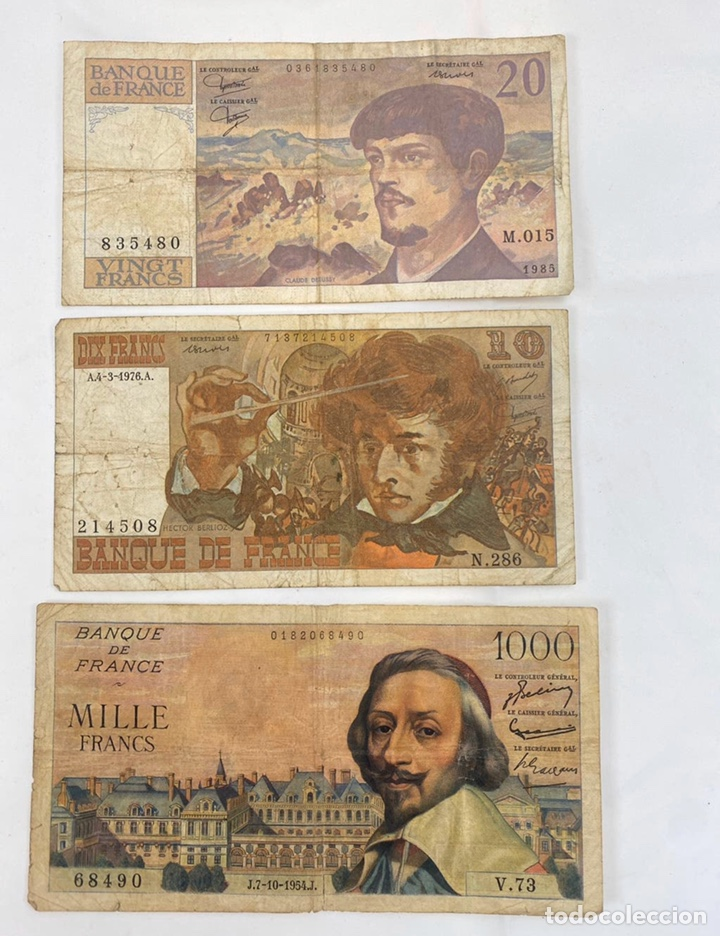 Monedas antiguas de Europa: Mix billetes del mundo - Foto 2 - 194103526