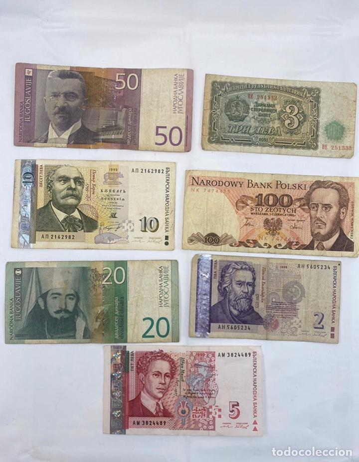 Monedas antiguas de Europa: Mix billetes del mundo - Foto 3 - 194103526