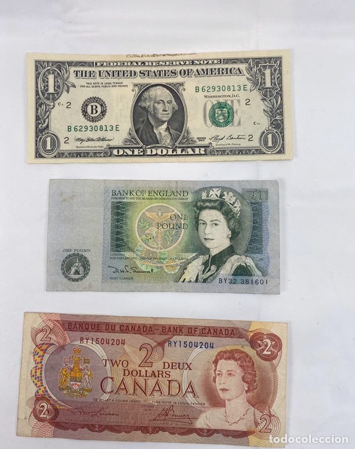 Monedas antiguas de Europa: Mix billetes del mundo - Foto 5 - 194103526