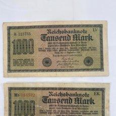 Monedas antiguas de Europa: MIX BILLETES DEL MUNDO. Lote 194103526