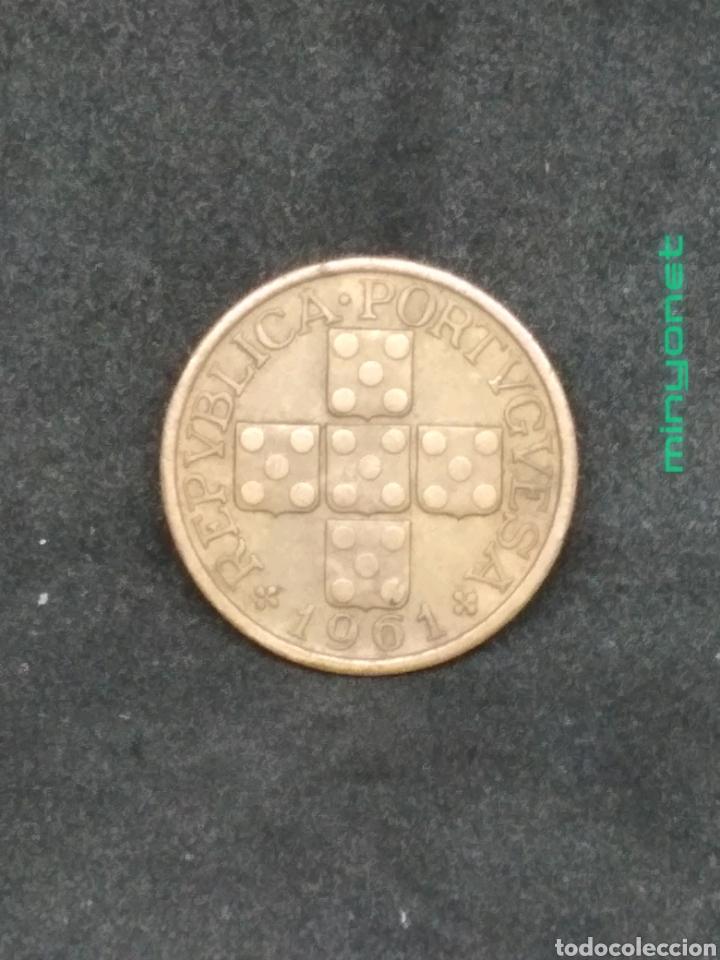 Monedas antiguas de Europa: Moneda de 20 centavos de Portugal de 1961 - Foto 2 - 194225791