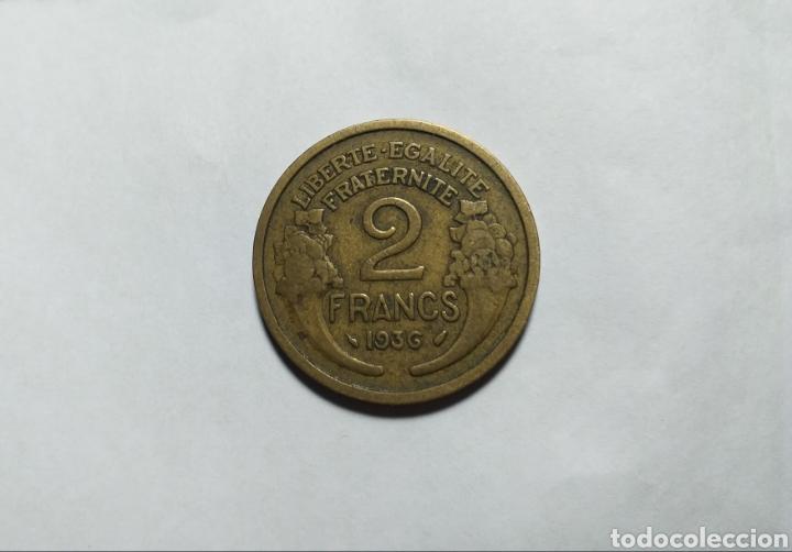 Monedas antiguas de Europa: FRANCIA 2 FRANCOS 1936 III REPÚBLICA FRANCESA - Foto 2 - 194232318