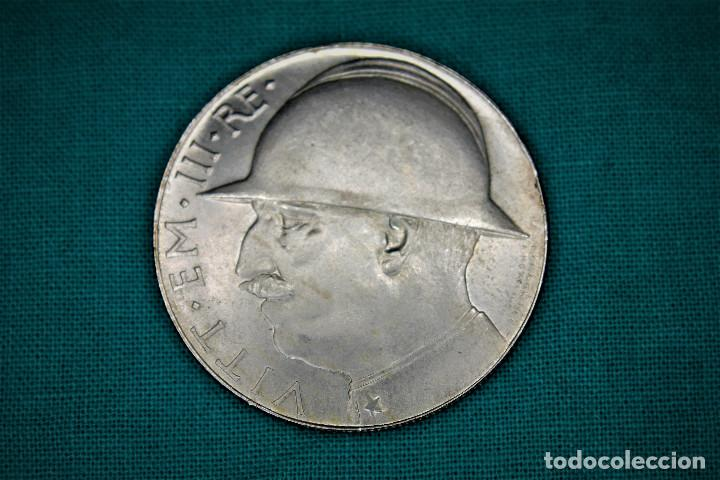 ITALIA 20 LIRE - 1928 - VITTORIO EMANUELE III -REGNO D'ITALIA S/C 3100 (Numismática - Extranjeras - Europa)