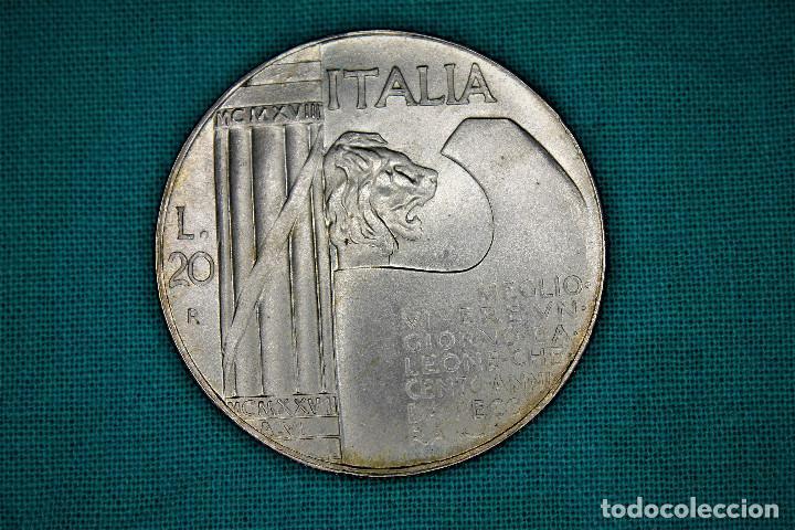 Monedas antiguas de Europa: Italia 20 Lire - 1928 - Vittorio Emanuele III -Regno dItalia S/C 3100 - Foto 2 - 194245872