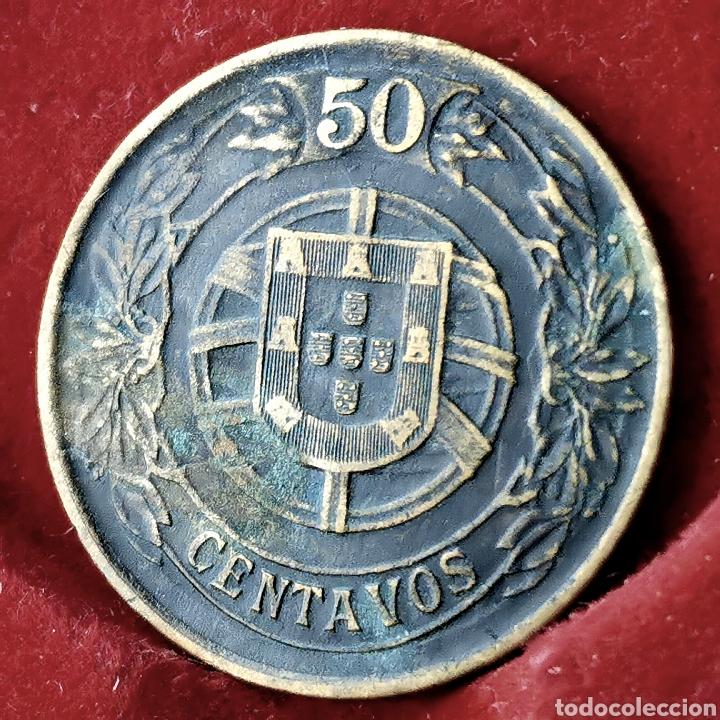 Monedas antiguas de Europa: Portugal 50 centavos 1926 - Foto 2 - 194250065