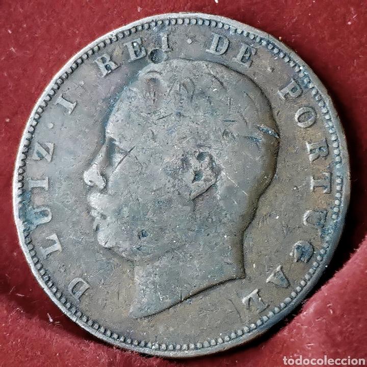 LA MÁS ESCASA. PORTUGAL 10 REIS 1886 (Numismática - Extranjeras - Europa)