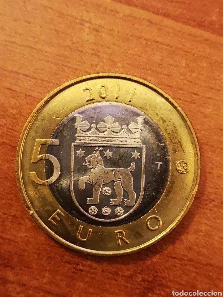 Monedas antiguas de Europa: Finlandia 2 monedas 5 euro 2011 - Foto 2 - 194254193