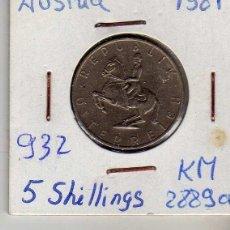 Monedas antiguas de Europa: AUSTRIA 5 SCHILLING 1981. Lote 194318458