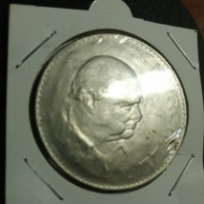Monedas antiguas de Europa: MONEDA 1 CORONA INGLATERRA CHURCHILL, 1965. Lote 194344547