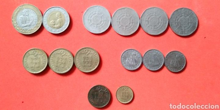 Monedas antiguas de Europa: PORTUGAL. LOTE 14 MONEDAS - Foto 2 - 194357831