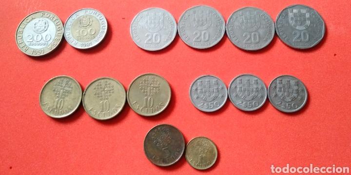 Monedas antiguas de Europa: PORTUGAL. LOTE 14 MONEDAS - Foto 3 - 194357831
