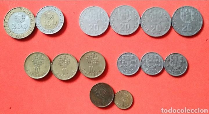 PORTUGAL. LOTE 14 MONEDAS (Numismática - Extranjeras - Europa)