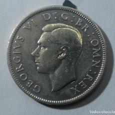 Monedas antiguas de Europa: 2 CHELINES DE PLATA 1943. TWO SHILLINGS. FLORIN. BRITÁNICA. GEOURGIUS VI. Lote 194369807