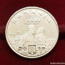 Monedas antiguas de Europa: RUMANIA ROMANIA 50 BANI QUEEN MARIA 2019 KM NEW SC UNC. Lote 194377975