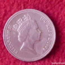 Monedas antiguas de Europa: 1 NEW PENNY GRAN BRETAÑA 1971. Lote 194393851