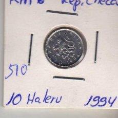 Monedas antiguas de Europa: REP. CHECA 10 HALERU 1994. Lote 194512333
