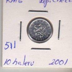 Monedas antiguas de Europa: REP. CHECA 10 HALERU 2001. Lote 194512371