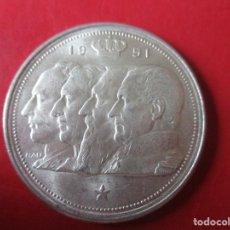 Monedas antiguas de Europa: BELGICA. MONEDA DE 100 FR. DE PLATA. 1951. Lote 194514202