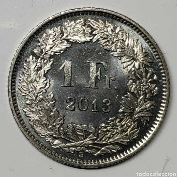 MONEDA SUIZA, 1 FRANCO 2013 (Numismática - Extranjeras - Europa)