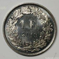 Monedas antiguas de Europa: MONEDA SUIZA, 1 FRANCO 2013. Lote 194532725