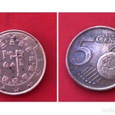 Monedas antiguas de Europa: 5 CÉNTIMOS PORTUGAL 2002. Lote 194575491