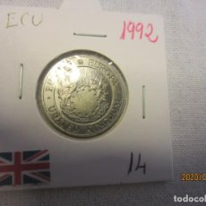 Monedas antiguas de Europa: REINO UNIDO ECU 1992 KM14 SC. Lote 194580675