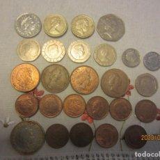 Monedas antiguas de Europa: REINO UNIDO LOTE DE TODOS LOS FACIALES. Lote 194581993
