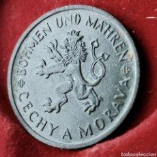 Monedas antiguas de Europa: BOHEMIA Y MORAVIA 1 KORUN 1942. Lote 194587081