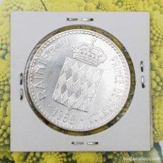 Monedas antiguas de Europa: DIEZ FRANCOS MÓNACO 1966 RAINIERO III PLATA KM 146. Lote 194614028