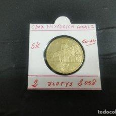 Monedas antiguas de Europa: POLONIA 2 ZLOTE 2008 (CIUDAD HISTORICA LOWICZ) S/C KM 630. Lote 194622377