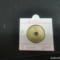 Monedas antiguas de Europa: POLONIA 2 ZLOTE 2003 (NIÑOS) S/C KM 446. Lote 194622525