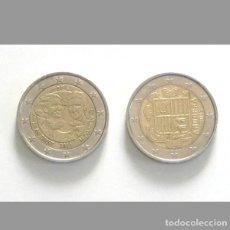 Monedas antiguas de Europa: 4 € CADA MONEDA - MONEDA DE DOS EUROS ANDORRA 2015 / BÉLGICA 2011 VAN DIEST Y POLELIN MUJERES 2€ 2 €. Lote 194624307