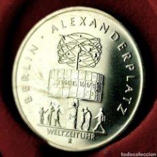 Monedas antiguas de Europa: FDC. ALEMANIA RDA 5 MARK 1987. Lote 194634123