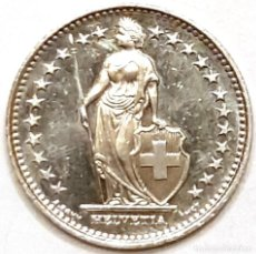 Monedas antiguas de Europa: MONEDA SUIZA 1 FRANCO 2011. Lote 194636076