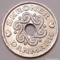 Monedas antiguas de Europa: MONEDA DE 2 CORONAS DINAMARCA 2002. Lote 194640882
