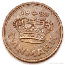 Monedas antiguas de Europa: MONEDA DE 50 ORE DINAMARCA 1989. Lote 194641258