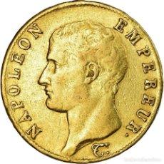 Monedas antiguas de Europa: MONEDA, FRANCIA, NAPOLÉON I, 40 FRANCS, 1806, TORINO, MBC, ORO, KM:675.5. Lote 194647656