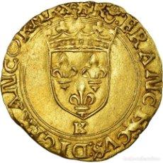 Monedas antiguas de Europa: MONEDA, FRANCIA, FRANÇOIS IER, ECU D'OR À LA CROISETTE, BORDEAUX, MBC+, ORO. Lote 194647720