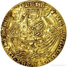 Monedas antiguas de Europa: MONEDA, GRAN BRETAÑA, EDWARD IV, NOBLE D'OR À LA ROSE, LONDON, BC+, ORO. Lote 194647740