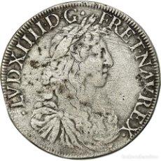 Monedas antiguas de Europa: MONEDA, FRANCIA, LOUIS XIV, ÉCU AU BUSTE JUVÉNILE, ECU, 1668, BAYONNE, BC+. Lote 194647743