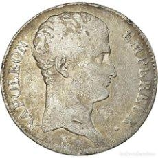 Monedas antiguas de Europa: MONEDA, FRANCIA, NAPOLÉON I, 5 FRANCS, AN 13, PARIS, BC+, PLATA, KM:662.1. Lote 194648010