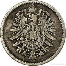 Monedas antiguas de Europa: MONEDA, ALEMANIA - IMPERIO, WILHELM I, MARK, 1875, BERLIN, BC+, PLATA, KM:7. Lote 194648171