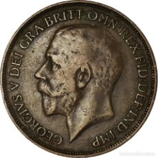 Monedas antiguas de Europa: MONEDA, GRAN BRETAÑA, GEORGE V, PENNY, 1914, MBC, BRONCE, KM:810. Lote 194686136
