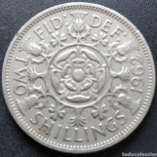 Monedas antiguas de Europa: REINO UNIDO 2 CHELINES 1962 - ENVIO GRATIS A PARTIR DE 35€ - VENDEDOR TONETI_83. Lote 194727271