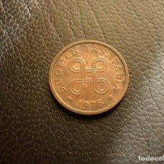 Monedas antiguas de Europa: FINLANDIA 5 PENNIA 1976. Lote 194735272